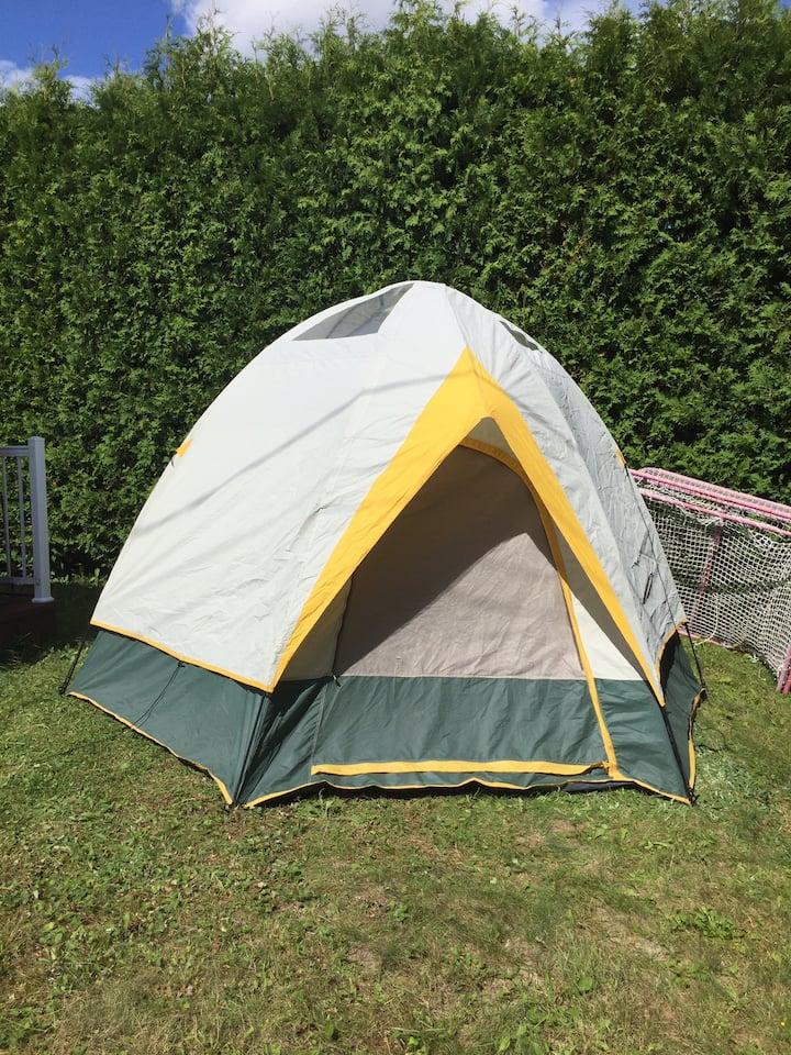 Camping en toute tranquillité