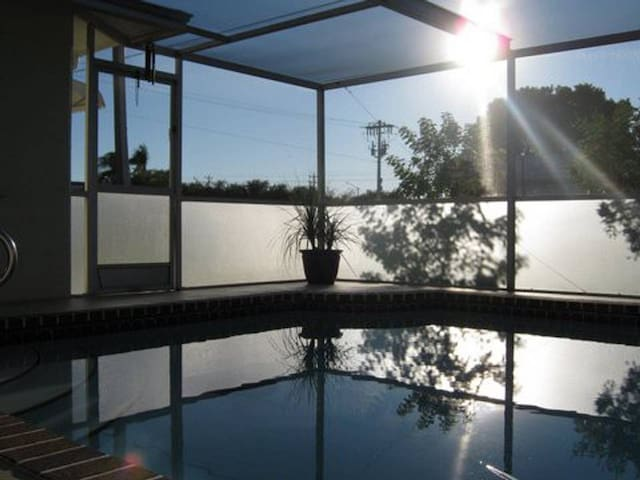 Southwest Florida Vacation Home W/ Heated Pool.