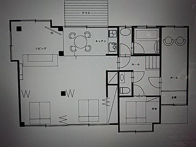 1階まるまる貸し切り。