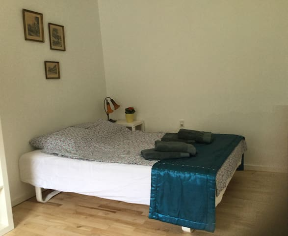 Private, cozy, clean room close to centrum.