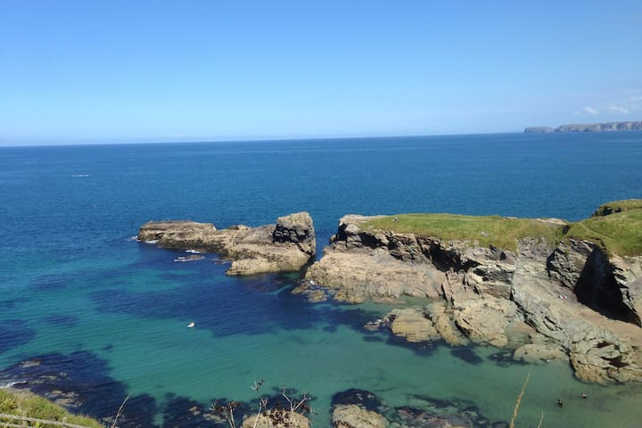 Apartment for two in Port Isaac with free parking - Port Isaac