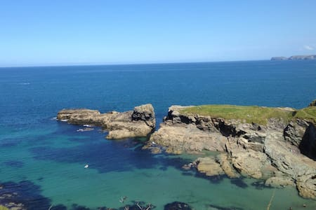 Apartment for two in Port Isaac with free parking - Port Isaac - Byt