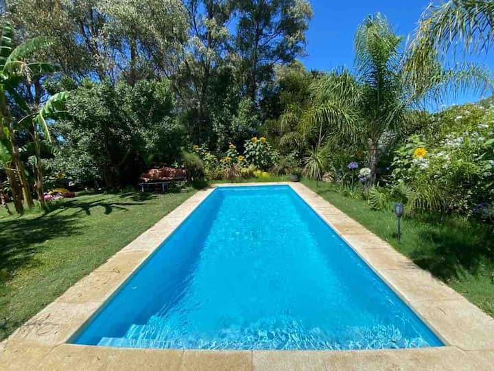 Casa con piscina climatizada -La Barra, El Tesoro