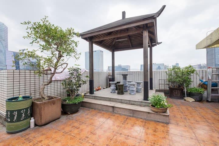 Sojourn at ShenZhen, rooftop and vegetable garden. - Shenzhen Shi - Villa