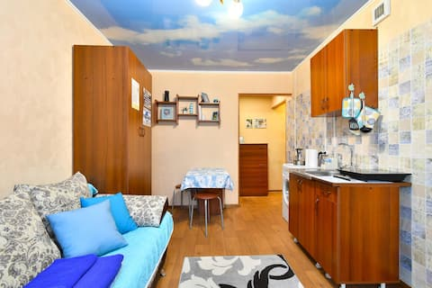 Уютная Студия, 24 м²