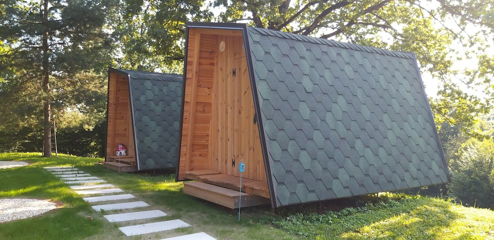 Wooden Glamp at Health Resort near Kamnik