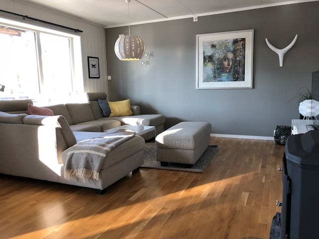 Two bedroom flat with garden in Tønsberg
