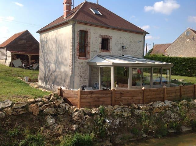 Moulin à eau rénové