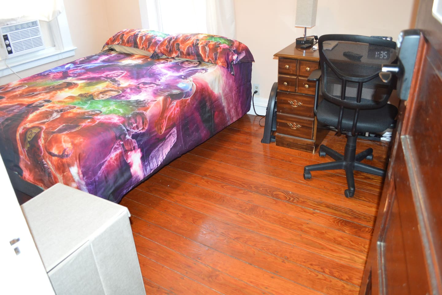 Room #2 has a brand new Nectar brand queen sized bed, and is very comfortable. Has high speed internet and comcast cable as well among the many of the new and improved features at The Modica Estates, while keeping all things in balance.