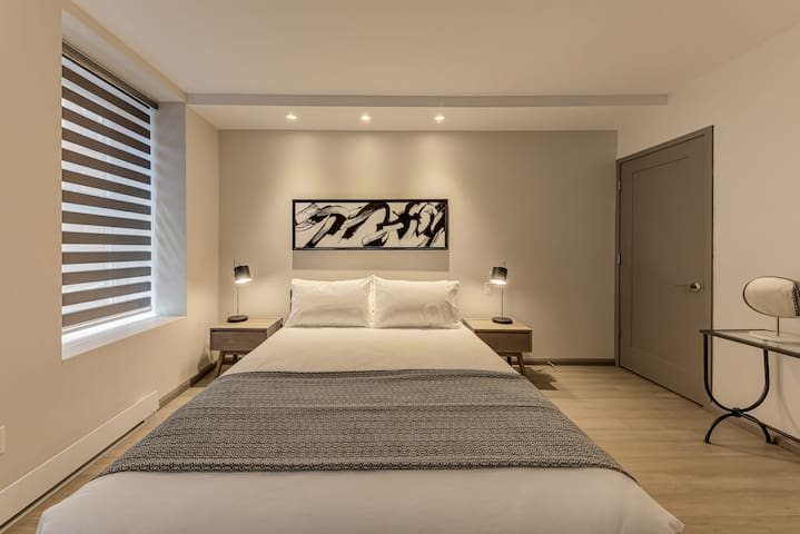 Modern room for 2 people