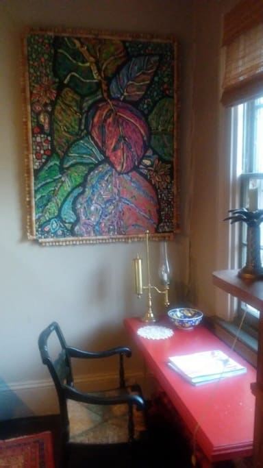 Your own Writing Desk and Painting