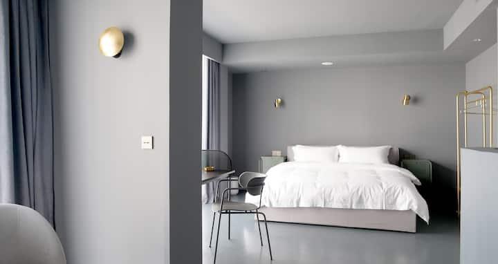 1515设计师公寓标准大床房