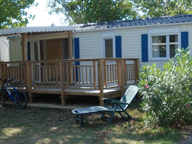 Mobilhome 6 personnes sur camping siblu