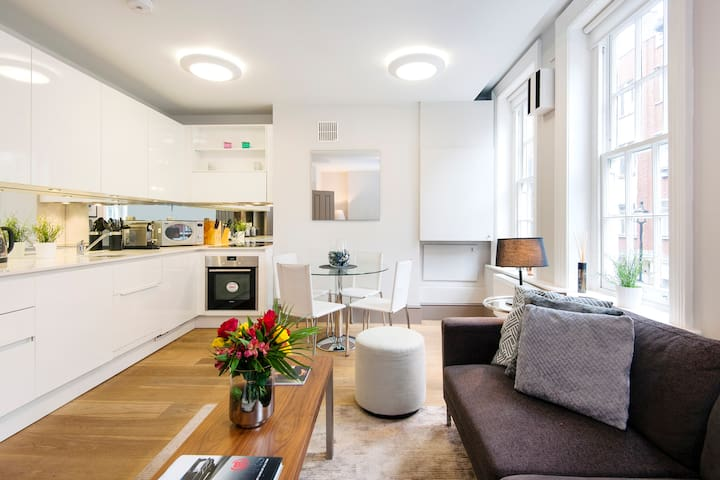 STAY IN STYLE-2 bedroom2bath in FIZTROVIA