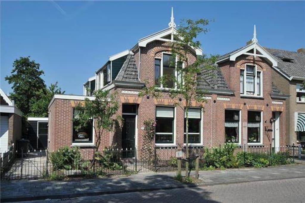 Landelijke villa dichtbij amsterdam case in affitto a for Case affitto amsterdam economici
