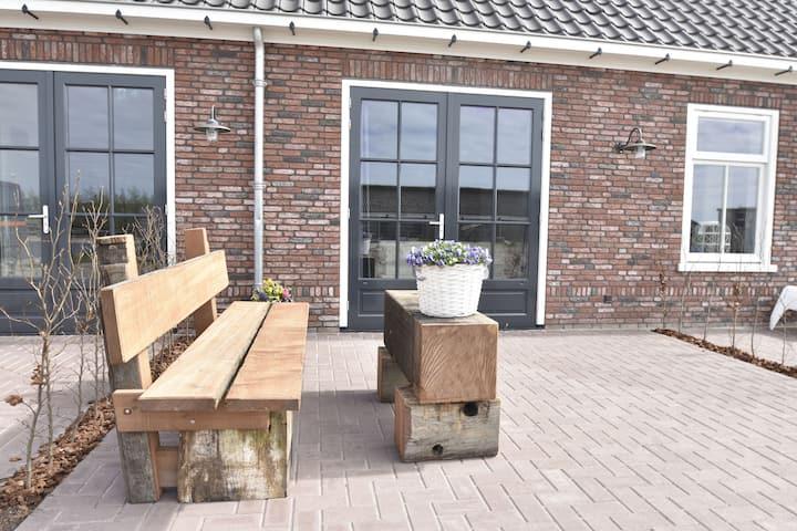 Studio voor 2 personen aan de Noord-Hollandse Zeekust