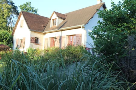 Chambre avec bureau et salle d'eau privée - Méry-sur-Marne - Rumah