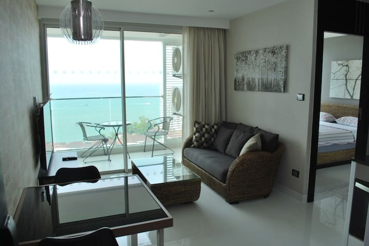 Sea View.  Amari Residence and Hotel.