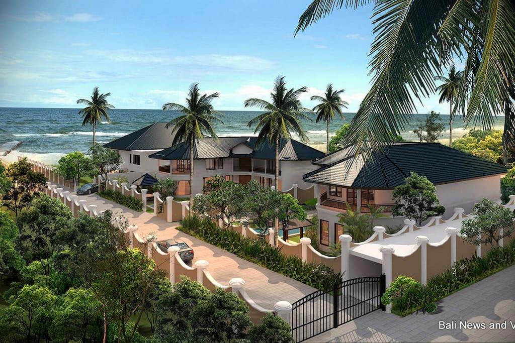 Bali Paradise Beach Estates is a first class estate built by a Tripadvisor Hall of Fame award winning builder.