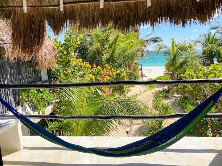 ❤️ Cozy Beach Front Cabin - La Mexicana ❤️