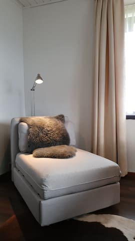 Wohnküche -Ausziehbares Schlafsofa -Leseecke -Relax Lounge