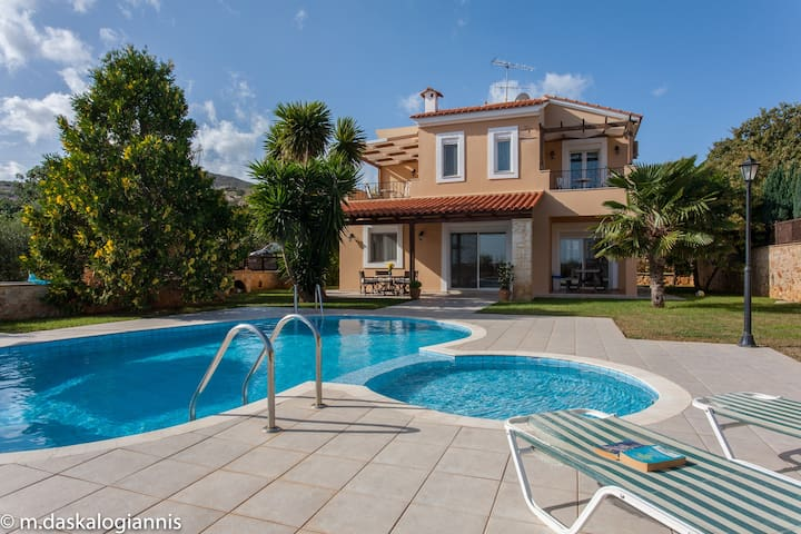 Villa Elessa - Gerani Villas with private pool - Gerani, Rethymno
