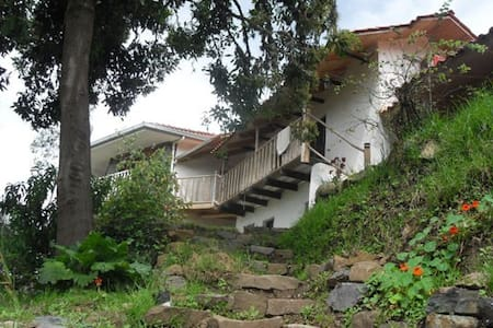Magic mountain view - clay house