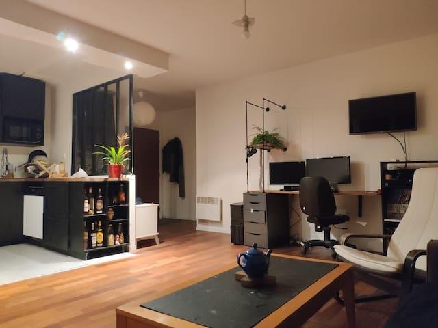 T2 Type loft, calme et cozy