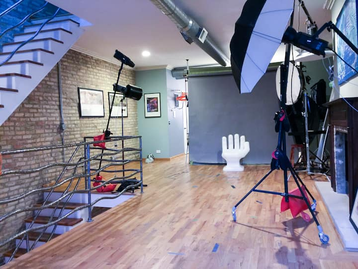 Lights, Camera, Action! Studio Space for Artists!