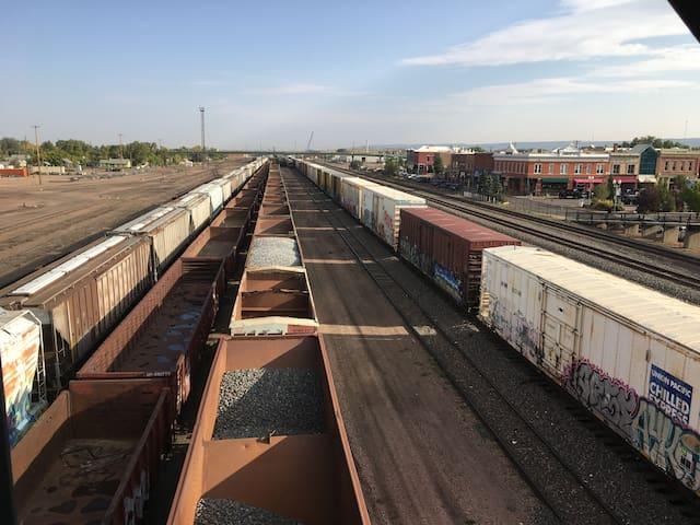 Union Pacific Rail Yard Laramie