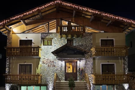 alpine aria διαμέρισμα - Kalavrita - Osakehuoneisto