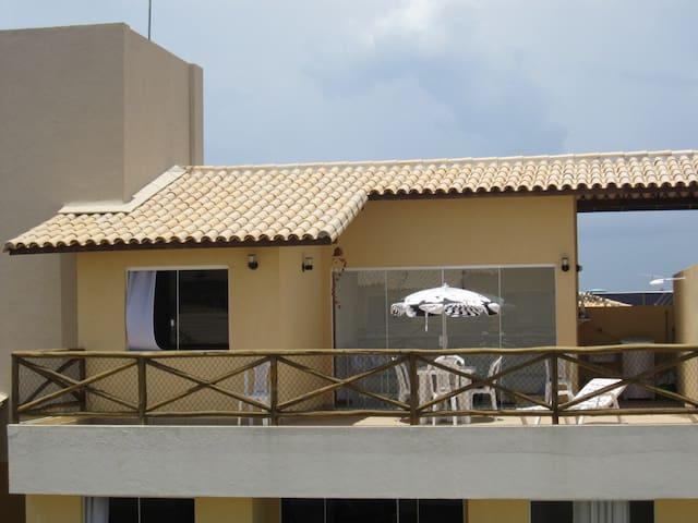Beautiful duplex apartment. Stella Maris. Salvador