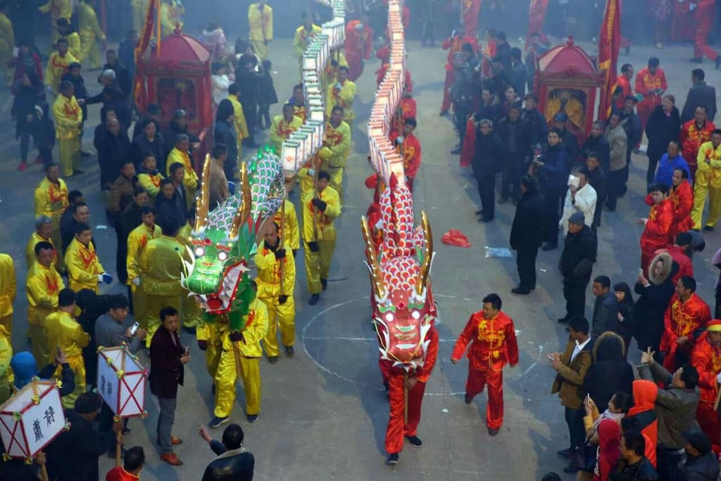 Chinese Traditional Long Dance