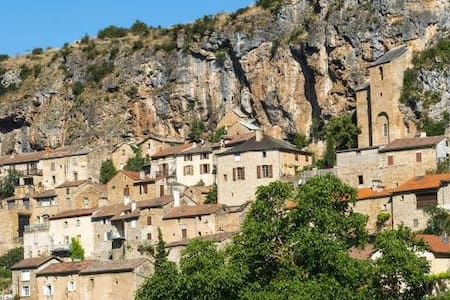 au coeur d'un des plus beaux villages de France