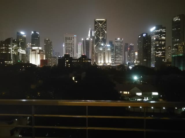 Awesome Balcony KL City View Apartment  {WiFi}
