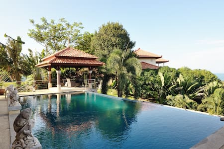 30% Off! Huge Pool! Sea View! Villa Serena - 4BR - Amphoe Ko Lanta - Villa