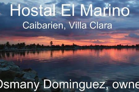 Hostal El Marino Phone 53 52510677 - Caibarién
