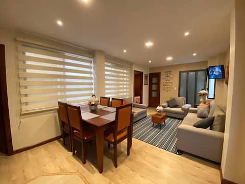 Bel appartement complet/Cuenca, Équateur