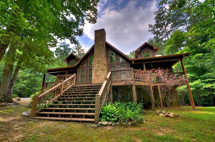 Awesome Retreat - Morganton - 小屋