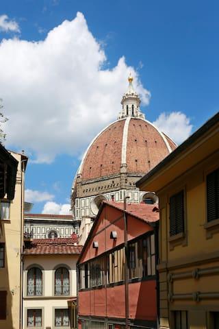 Torre della Pazzaglia Florence historic centre - Florença - Apartamento