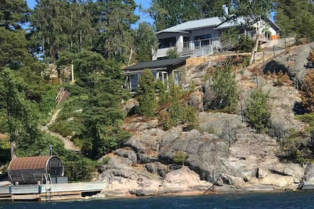 Fantastic seafront house in Stockholm archipelago