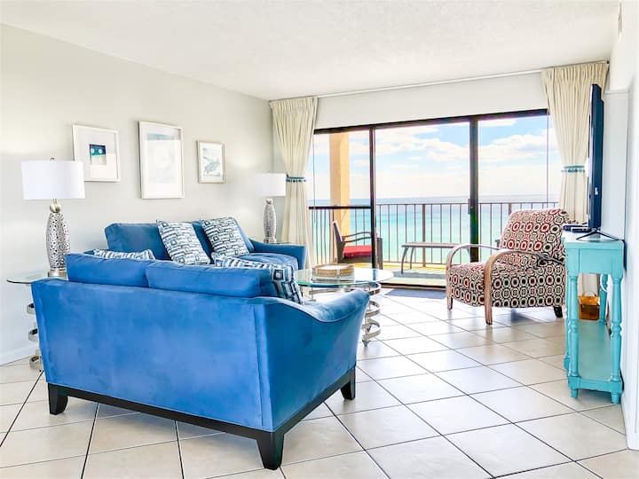 Moondrifter 808 - Spacious Ocean Front Condo With Stunning Views Over Gulf Of Mexico