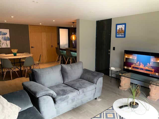 Comfortable apartment to relax and enjoy the city