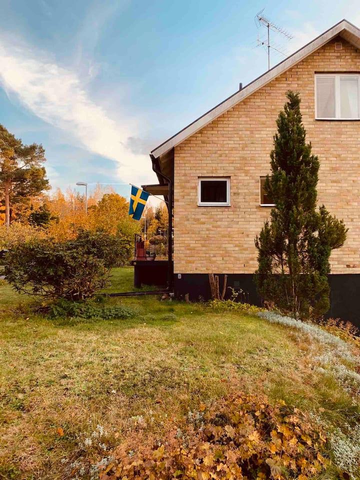 Gemütliches Schwedenhaus für 1-6 Personen