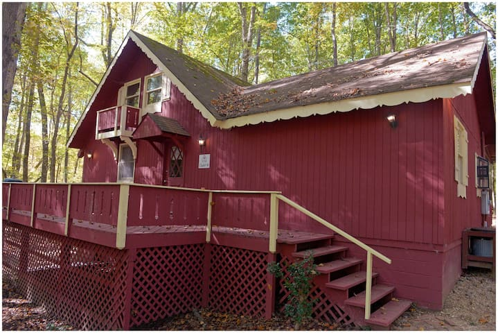 Cabin with Putt Putt, Pool tables, salt water pool and much more.  #48 - Pet Friendly