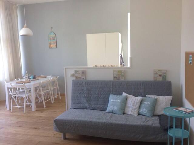 Elegant bright apartment Huys & SEA