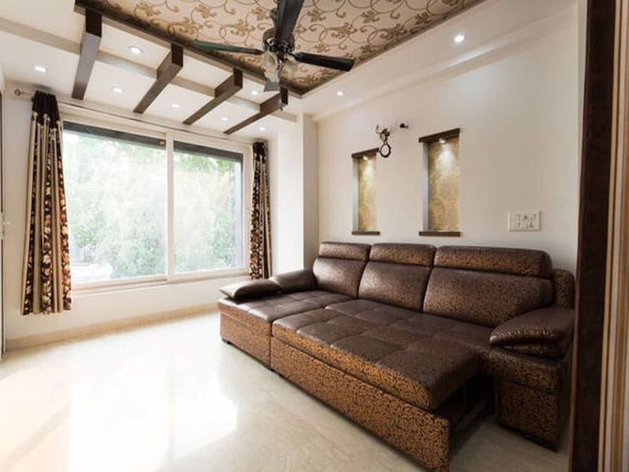 Double Smoking Room - Sofa Bed Balcony View