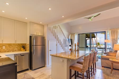 """Hale Honu """"Home of the Turtle"""" - Newly Remodeled - Lahaina - Condominium"""