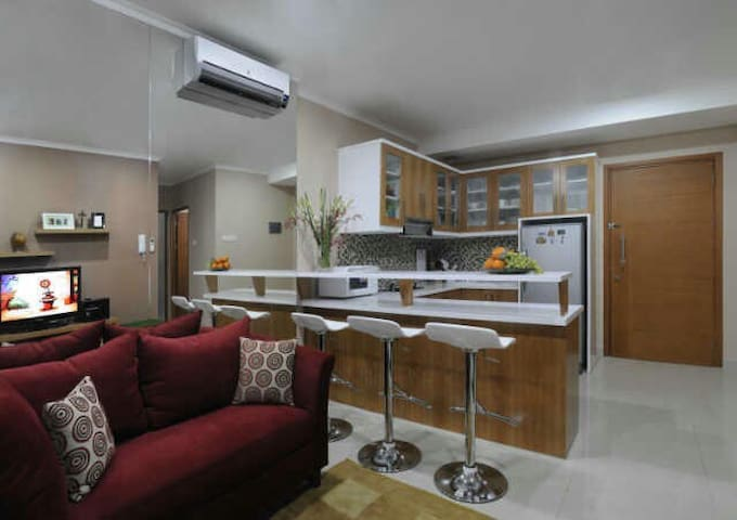 Two bedrooms in Resort style apartment