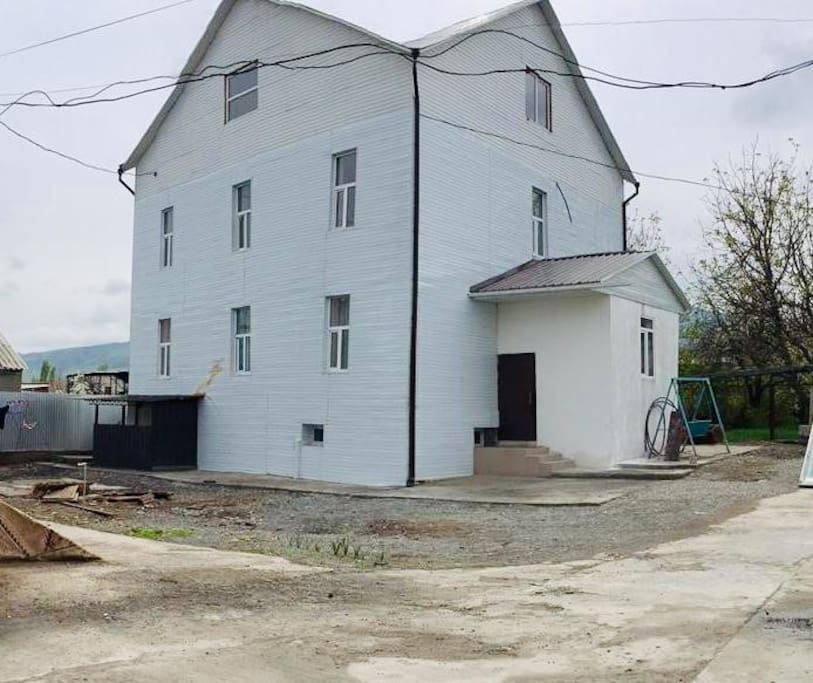 New house, 15 minute drive away from Bishkek and 20 minute drive to Ala-Archa National Park.